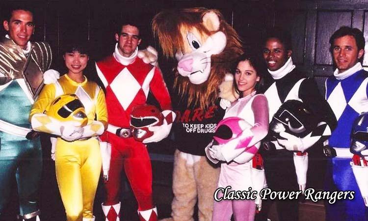 Classic Power Rangers